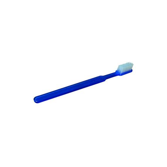 Brosse à dents imprégnée de dentifrice