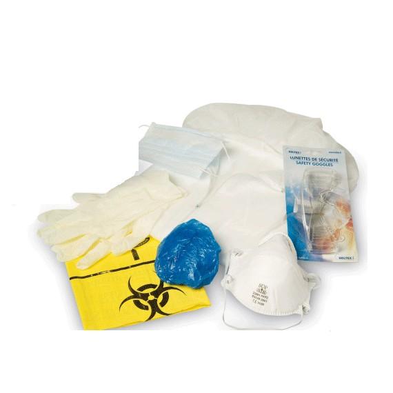 Kit d'urgence protection ambulance épidémie virale