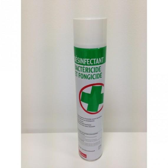 Aérosol bactéricide auto-percutant