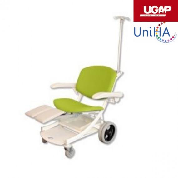 Chaise de transfert bariatrique I-MOVE